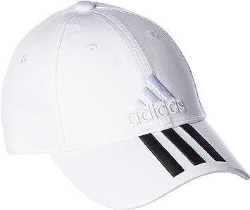 adidas 6P 3S Cap Cotto Gorra de Tenis, Hombre, Blanco (Blanco ...