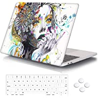 Hard Case Shell & Keyboard Skin Cover for MacBook Pro 13/16 & Air 13/12