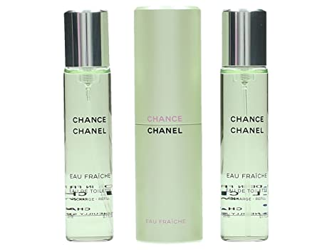 Buy Chanel Chance Eau Fraiche Twist   Spray EDT 3x20ml 0.7oz Online at Low  Prices in India - Amazon.in f42689d75