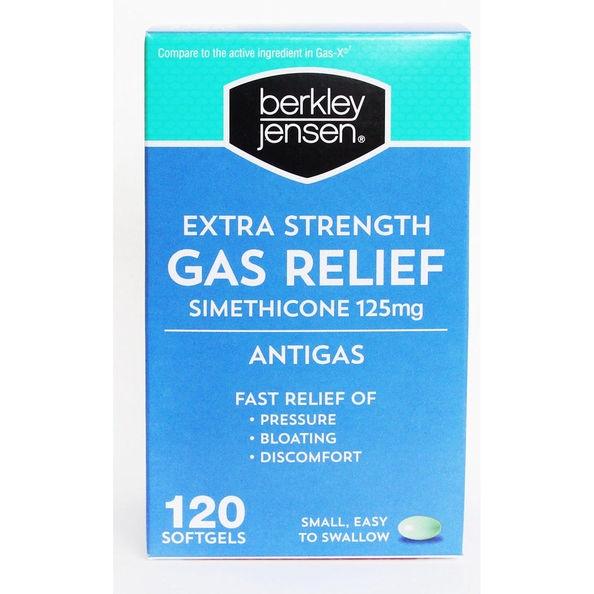 Berkley Jensen Extra Strength Gas Relief Softgels, 120 ct. (pack of 6)