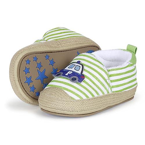 SterntalerBaby-Espandrilles - Patucos y Zapatillas de Estar por casa Bebé-Niñas, Color Verde, Talla 20: Amazon.es: Zapatos y complementos