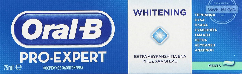 Oral B Pro-Expert Pasta Dental Blanqueante - 75 ml: Amazon.es: Amazon Pantry