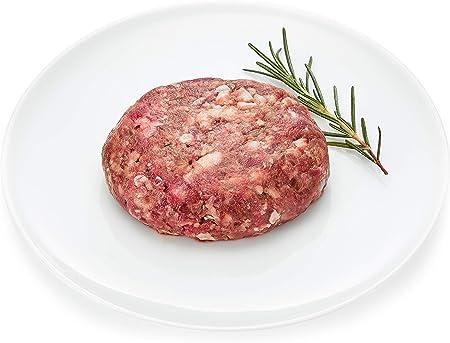 [冷凍] 氷室熟成 北海道産十勝黒牛 生ハンバーグ 120g