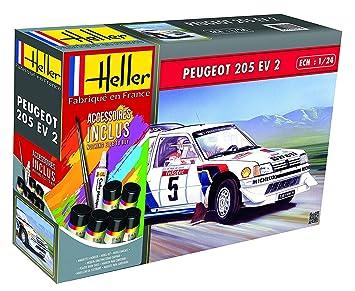 Outletdelocio. Heller 56716. Maqueta Coche Peugeot 205 EV2 ...