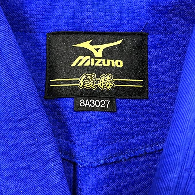 Mizuno Giacca Yusho Best RB IJF Blu: Amazon.it: Sport e