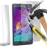 Samsung Galaxy Note 4 Pack Of 1 Prime en verre trempé Crystal Clear Protections d'écran LCD Packs Avec Chiffon & Demande de carte par ONX3