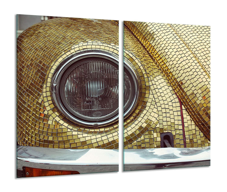 Cocina con 2 Placas de cocción de Cristal de 30 x 52 cm ...