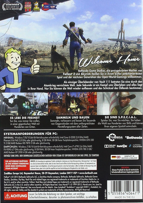 Fallout 4 Uncut Pc Amazonde Games