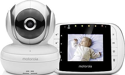 de73fc290 Motorola MBP 33S - Vigilabebés vídeo con pantalla LCD a color de 2.8 quot