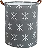 HIYAGON Large Storage Baskets,Waterproof Laundry Baskets,Collapsible Canvas Basket for Storage Bin for Kids Room,Toy…