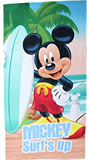 Mickey Mouse - Mickey toalla infantil microfibra 70x140 cm