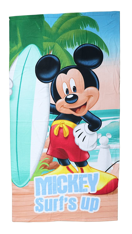 Mickey Mouse - Mickey toalla infantil microfibra 70x140 cm: Amazon.es: Hogar