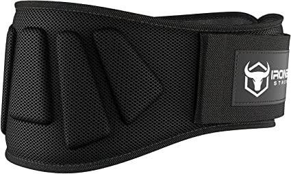 Iron Bull Strength Weight Lifting Belt Light /& Heavy Duty Core Support for Weightlifting Cross Training and Fitness High Performance Back Support for Lifting