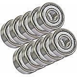 10 Bearing 6204ZZ 20x47x14 Shielded Ball Bearings