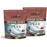 Laird Superfood Non-Dairy Coffee Creamer Cacao - Powder Coconut Creamer | Non-GMO | Vegan | Gluten-Free | 2lb Bag