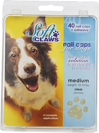 Amazon Com Canine Soft Claws Dog And Cat Nail Caps Take Home Kit