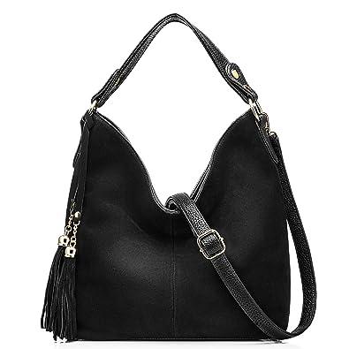c0cf663ebdca1 Amazon.com: Realer New Design Women Tote Leather Purse Crossbody Bag ...