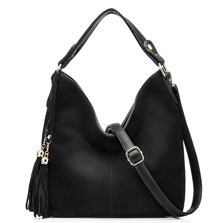 Realer New Design Women Tote Leather Purse Crossbody Bag