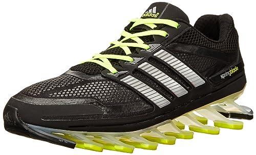 adidas Springblade Zapatillas, Solar Azul/Plata/Negro, 7 US: Amazon.es: Zapatos y complementos