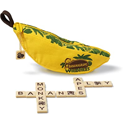 Bananagrams WildTiles Vocabulary Building and Spelling Improvement Lettered Tile Game for Ages 7 and Up: Toys & Games