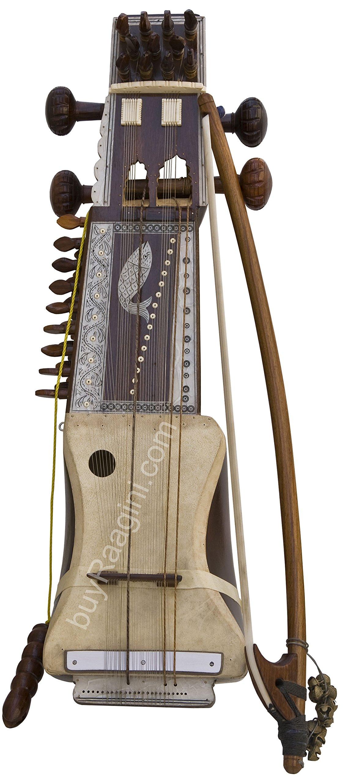 Pritam Singh Special handmade Sarangi - Deda Model - Special Horse Hair Bow (PDI-231)