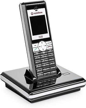 Sagem H20 Vodafone Casa Teléfono inalámbrico con gsm Opcional como teléfono móvil. Pantalla en Color teléfono Fijo: Amazon.es: Electrónica