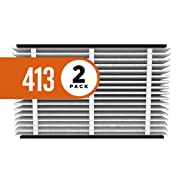 Aprilaire 413 Replacement Air Filter for Aprilaire Whole Home Air Purifiers, Healthy Home Allergy Filter, MERV 13 (Pack of 2)