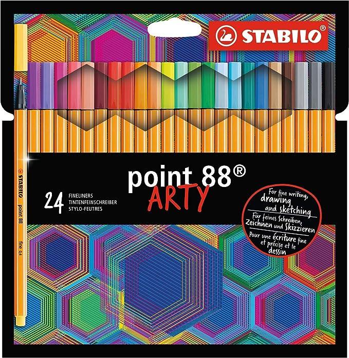 Fineliner Sondersortierung AZN8810-3 STABILO point 88-20er Pack
