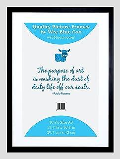 Amazon.com: Lab No.4 PU Material Black Poster Frame Matte Finish ...