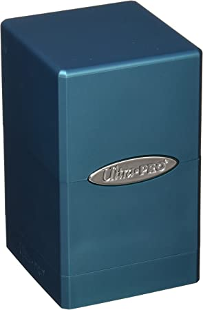 Ultra Pro 84616 - Caja para Cartas (satén), Color Azul: Amazon.es ...