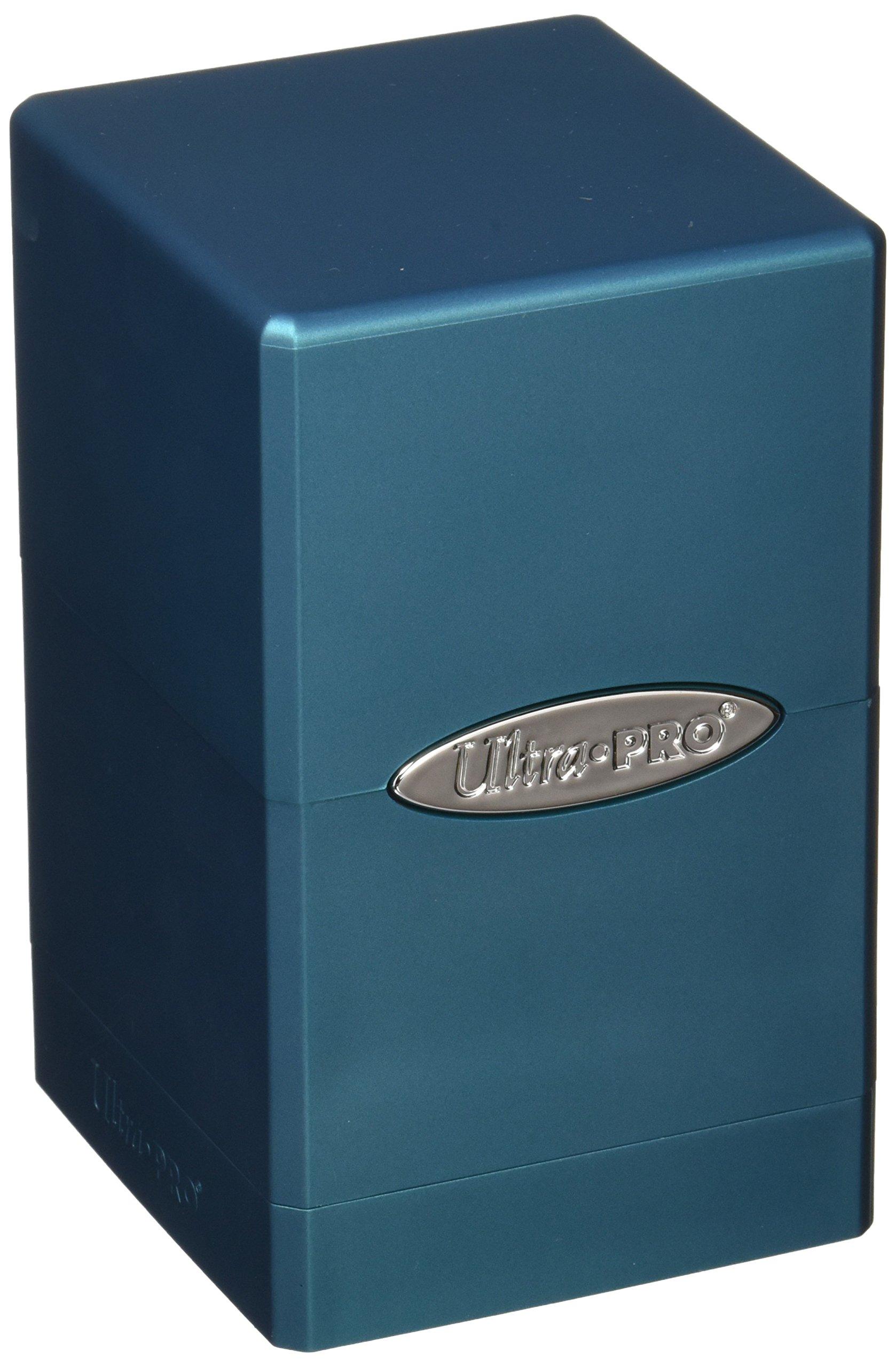 Ultra Pro 7442784616 Ocean Satin Tower Deck Box by Ultra Pro