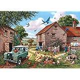Big 500 Piece Jigsaw Puzzle - Farmer's Wife