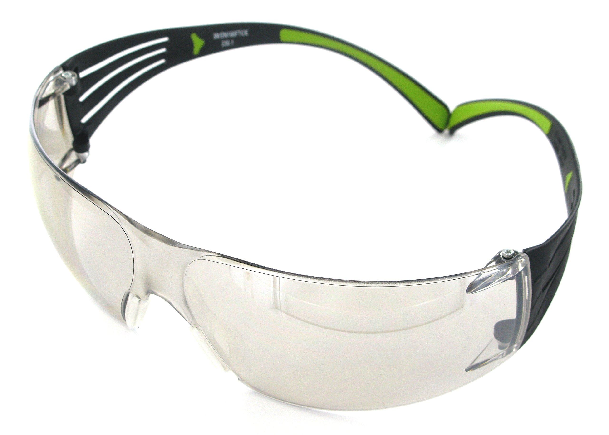 3M SecureFit Protective Eyewear, 400-Series, SF410AS, Indoor/Outdoor Mirror lens (Case of 20)