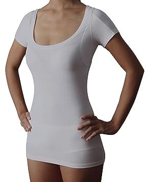 Sweatshield Sweat Proof Women s Undershirt  MicroModal Scoop Neck T Shirt d3138ec9f4