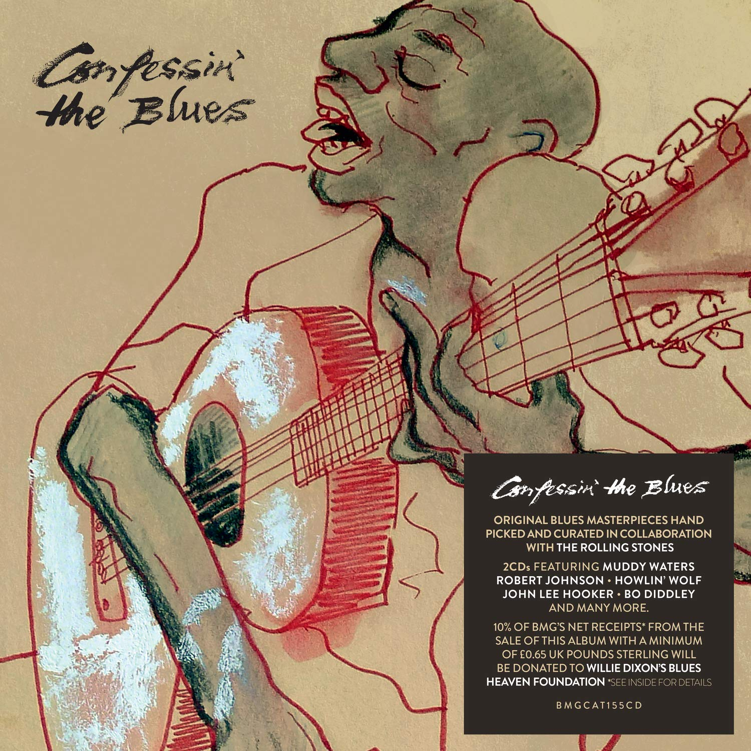 CD : VARIOUS ARTISTS - Confessin The Blues /  Various (United Kingdom - Import)
