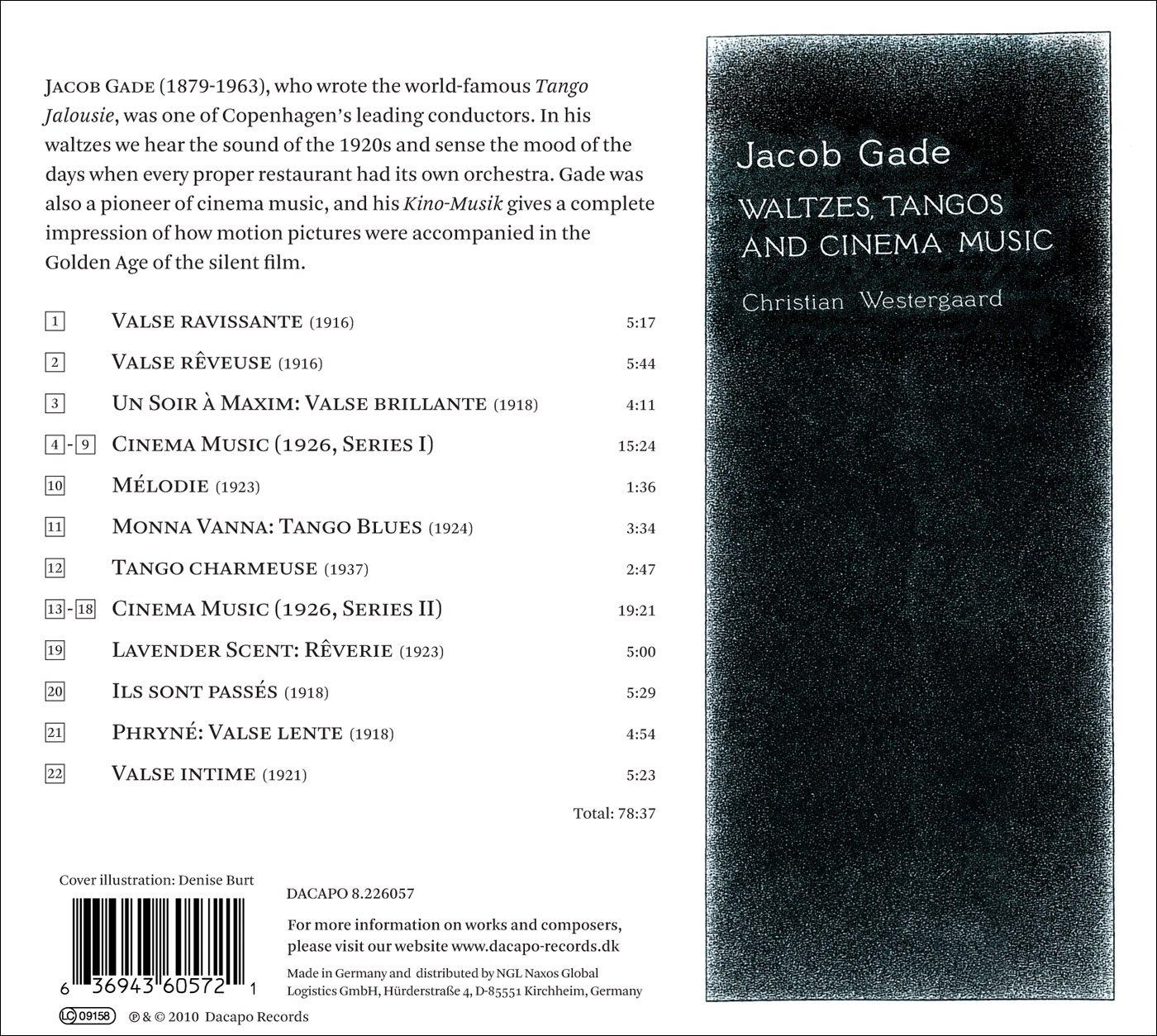 Waltzes / Tangos & Cinema Music