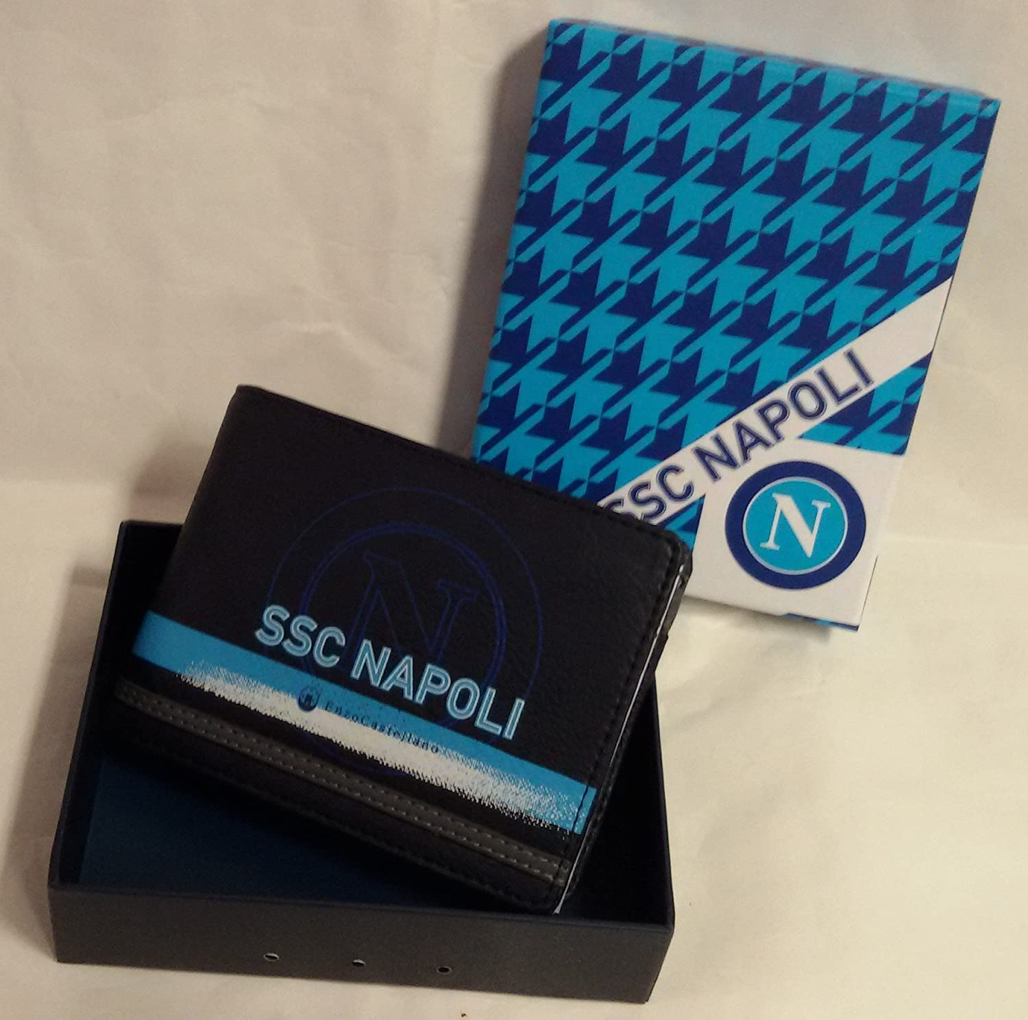 EXCLUSIV * SSC Neapel Monedero Hombre Cartera Monedero en ...