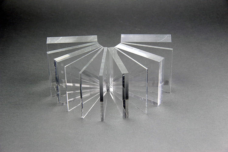 2 mm, 800 x 600 mm Acrylglas Zuschnitt Plexiglas Zuschnitt 2-8mm Platte//Scheibe klar//transparent