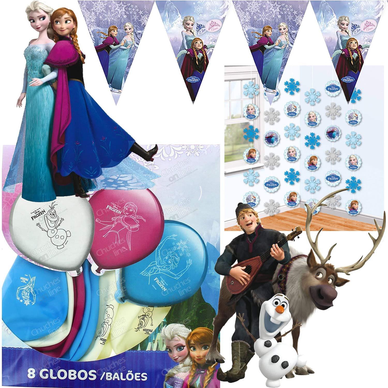 Procos/Carpeta de 42 Piezas - Juego de decoración * Frozen ...