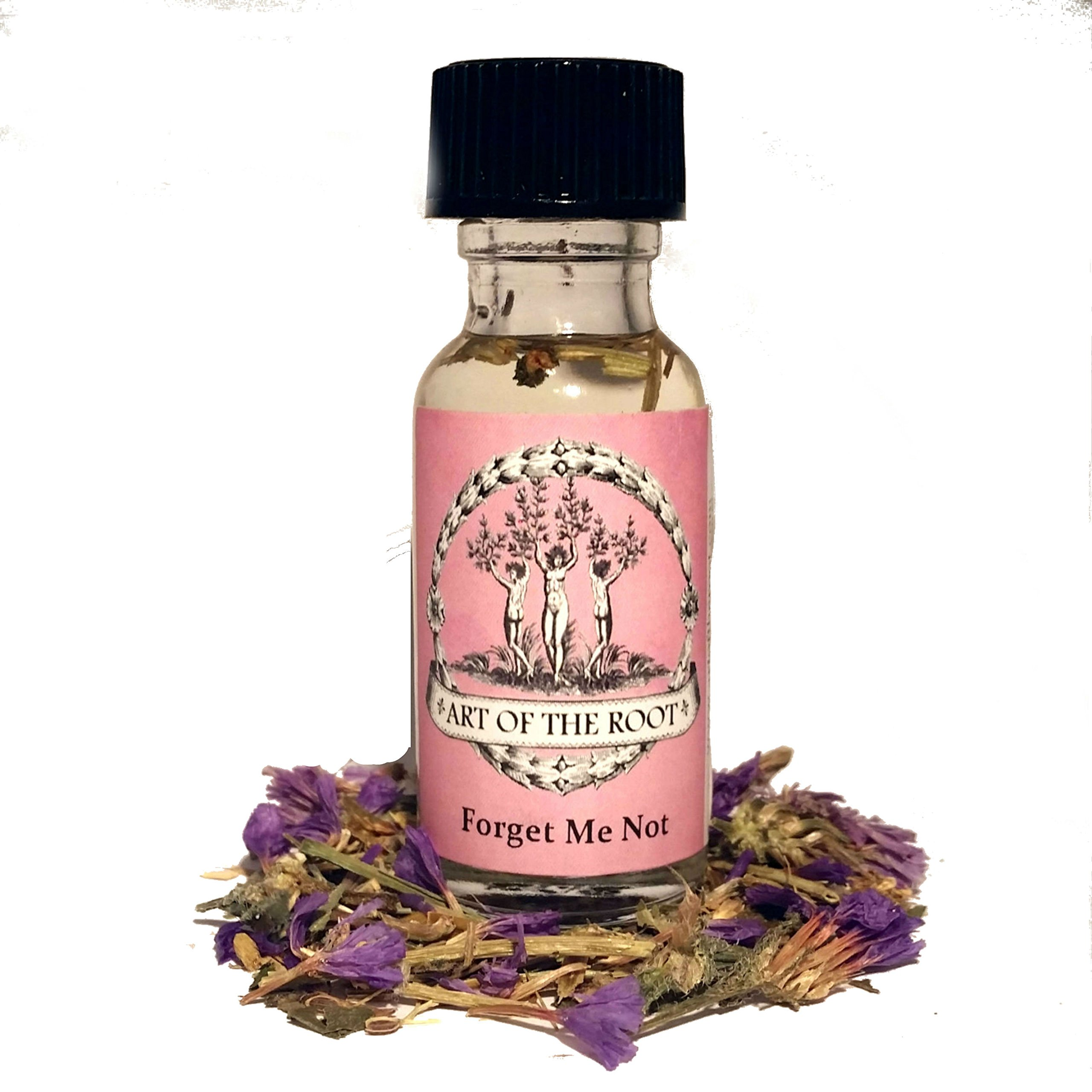 Forget Me Not Oil 1/2 oz for Enduring Love, Long Distance Relationships & Commitment Hoodoo Voodoo Wicca Pagan