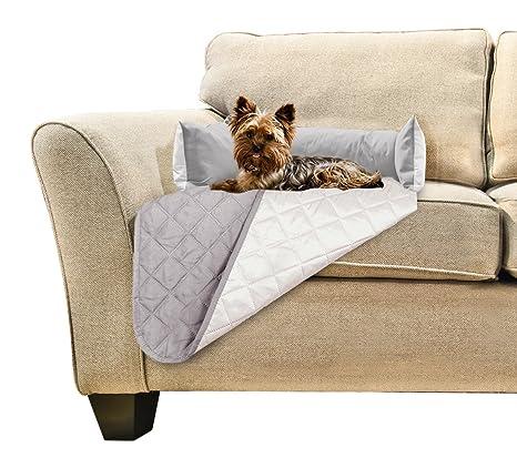 Amazon Com Furhaven Pet Furniture Cover Sofa Buddy Reversible