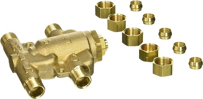 3//8 LFUSGB-M2 WATTS Mixing Valve,Low Lead Brass