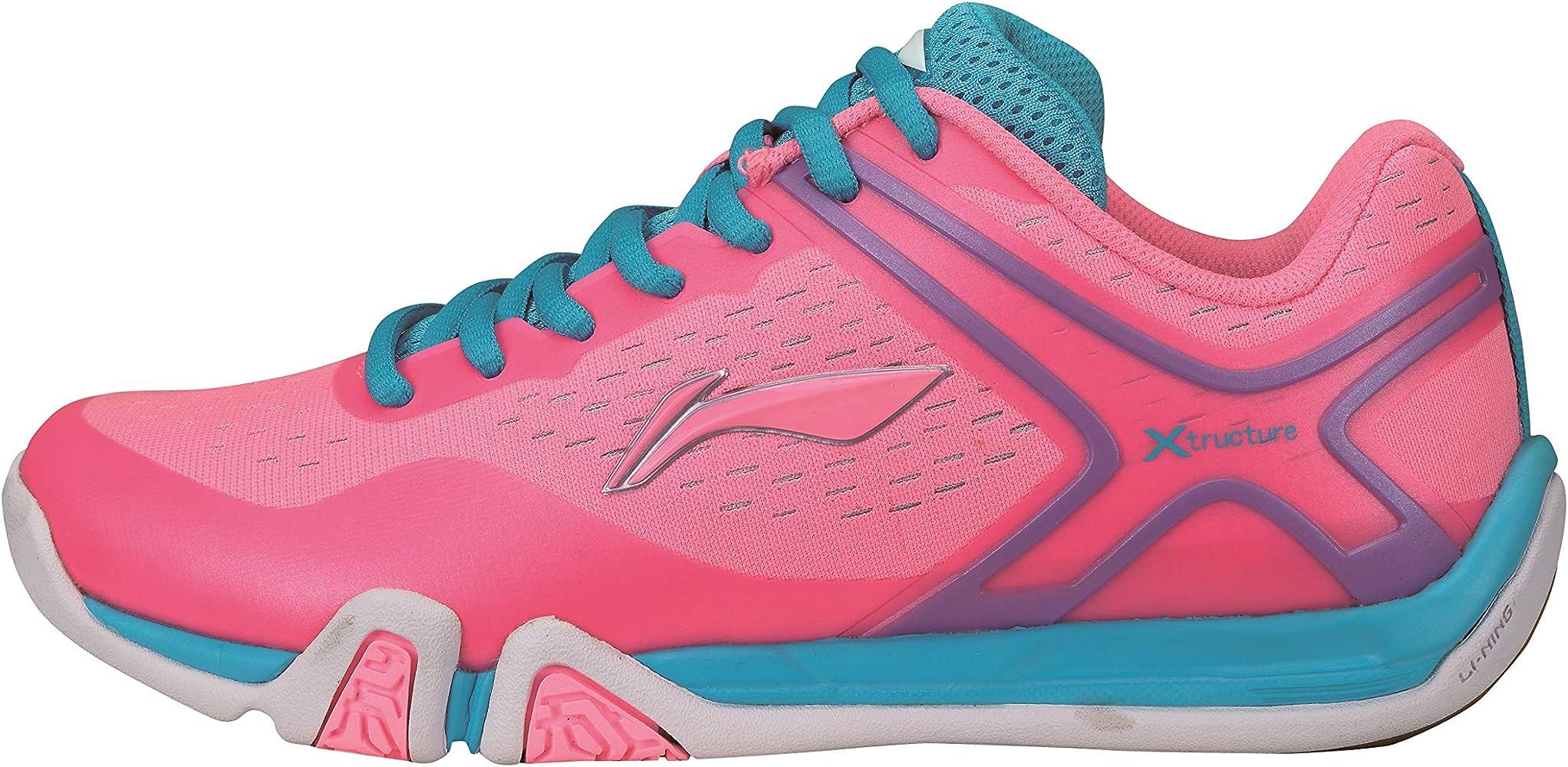AYTM048-2 Flash X Lady - Zapatillas de bádminton (Talla 40, 1/3), Color Rosa: Amazon.es: Zapatos y complementos