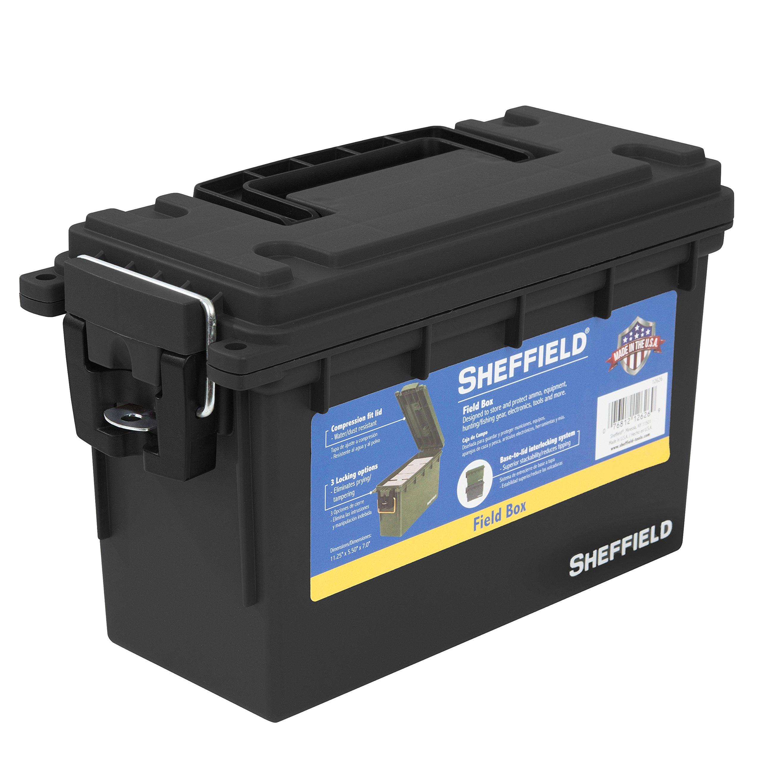 Sheffield 12629 Field Box- Black Made in The U.S.A.