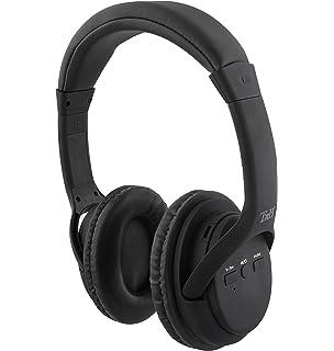 Auriculares 2 en 1 de Color Negro: Inalámbricos y con tecnología con Bluetooth Wireless -