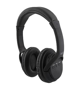 Auriculares 2 en 1 de Color Negro: Inalámbricos y con tecnología con Bluetooth Wireless: Amazon.es: Electrónica