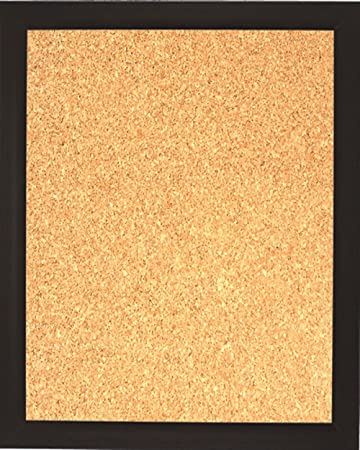 framed cork board espresso diy large decorative bulletin