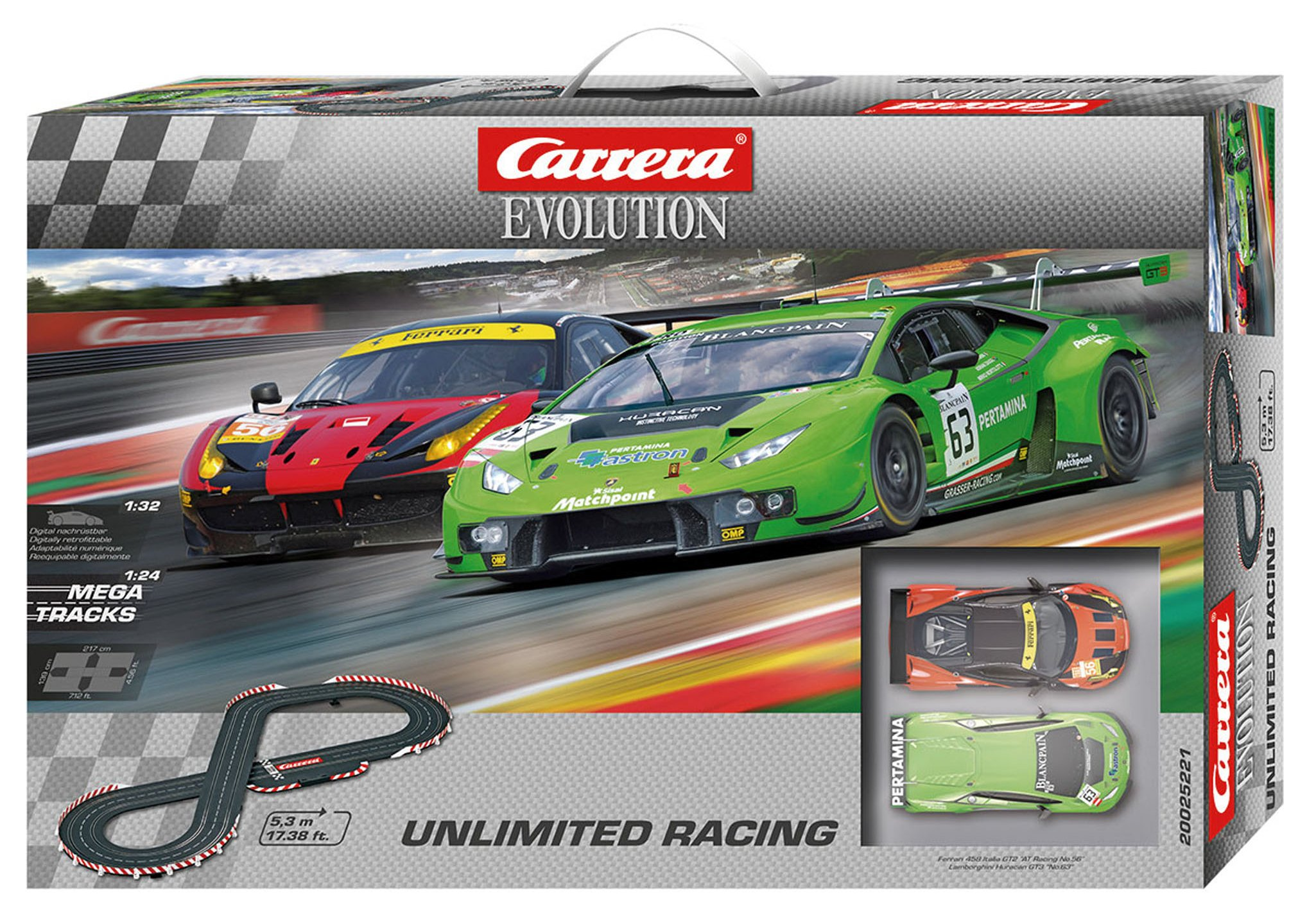 Carrera Evolution 25221 Unlimited Racing by Carrera (Image #5)
