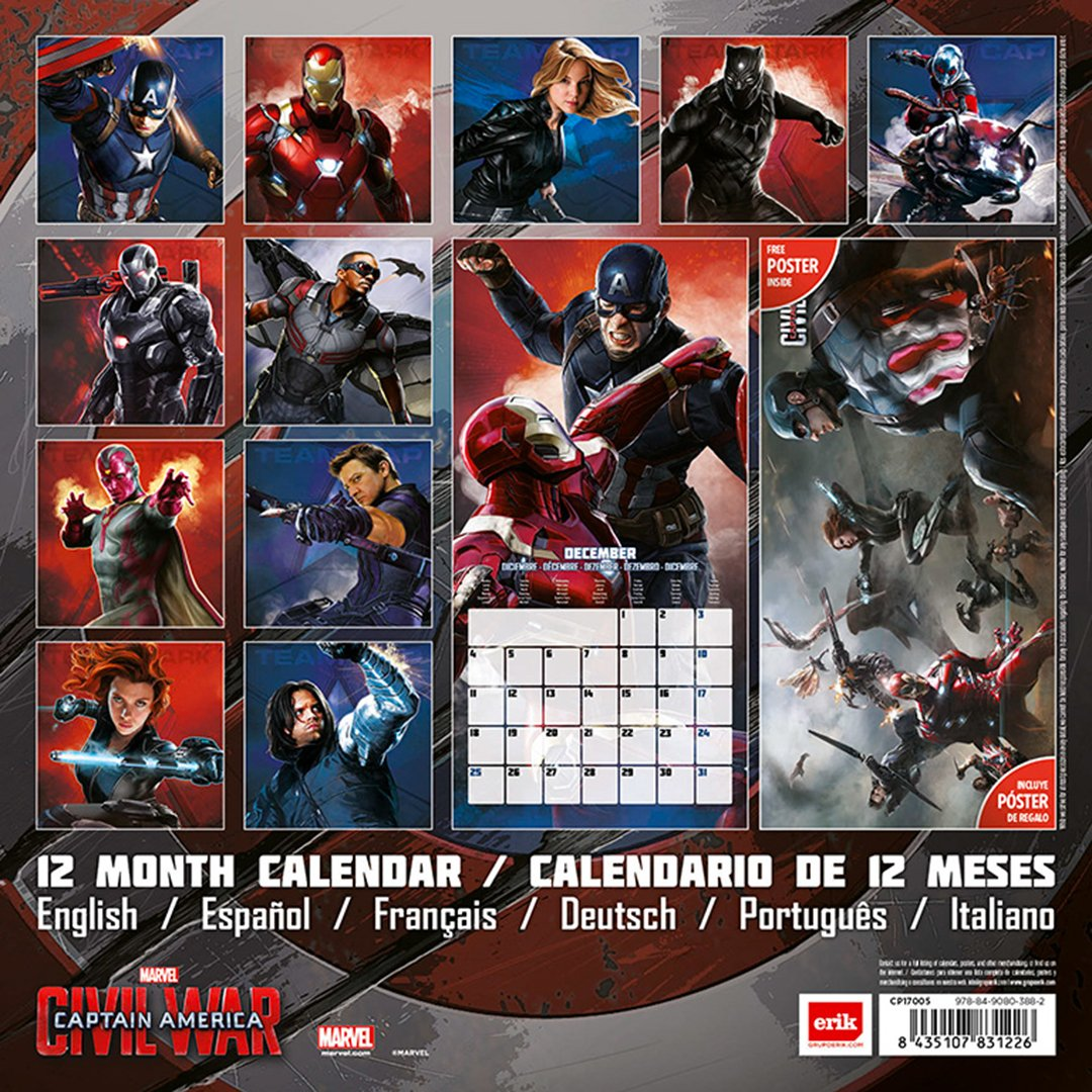Grupo Erik Editores Marvel Capitan America Civil War ...