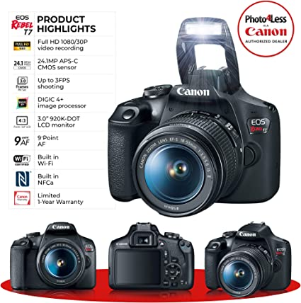 PHOTO4LESS Canon EOS Rebel T7 product image 3